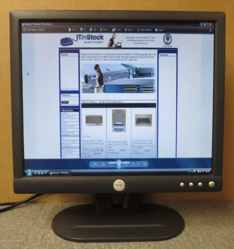 "Dell E172FBP 0P1445 17"" LCD TFT Active Matrix Flat Screen Computer Monitor"